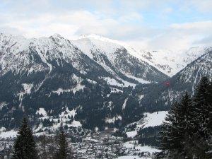 Blick vom Cafe Bergkristall