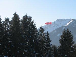 Zeppelin über Oberstdorf