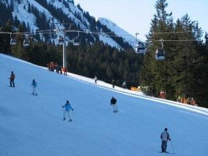 Skifahrer am Söllereck