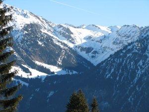 Blick in Richtung Nebelhorn