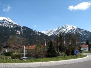 Ortseingang Oberstdorf