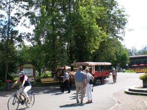 Stellwagen am Prinzregenten-Platz