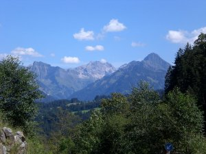 Rohrmoos - Blick Richtung Oberstdorf