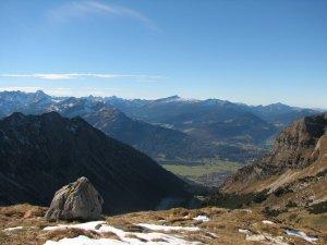 Wanderung vom Nebelhorn ins Tal