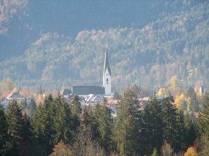 Kirchturm Oberstdorf
