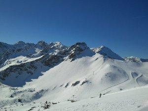 Skigebiet Fellhorn Kanzelwand
