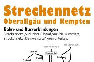 Streckennetz ÖPNV