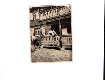 Engelbert, Maria mit Max und Kaspar Schraudolf, meine Urgroßgroßeltern (Kaspar mein Opa)