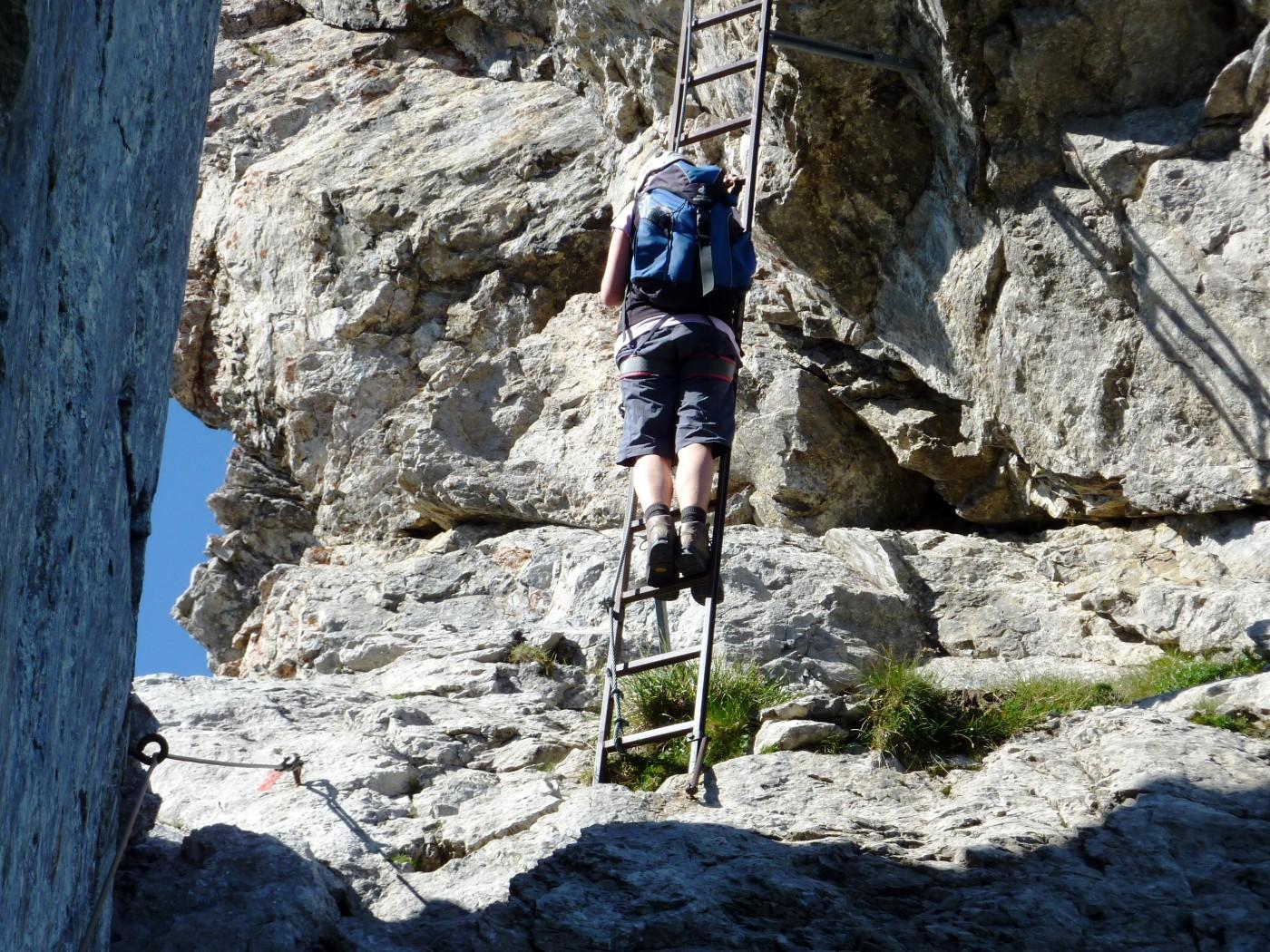 Klettersteig Immenstadt : Der hindelanger klettersteig wird eröffnet