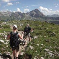 Abstieg zur Schwarzen Hütte