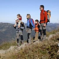 Mit Kindern am Berg