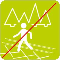 Loipe kein Wanderweg Zeichenfläche 1