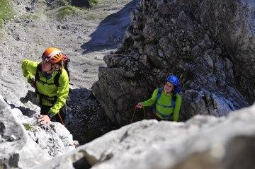 Klettern Abseilen Fotoaktion Hammerspitze (17)