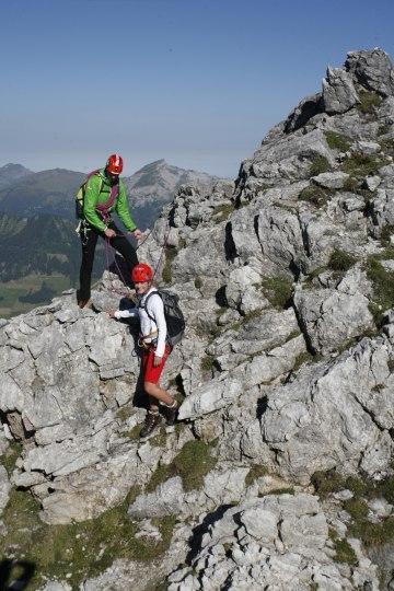 Klettern Abseilen Fotoaktion Hammerspitze (167)