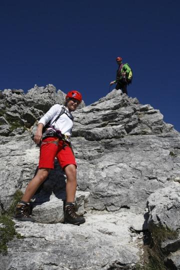 Klettern Abseilen Fotoaktion Hammerspitze (272)