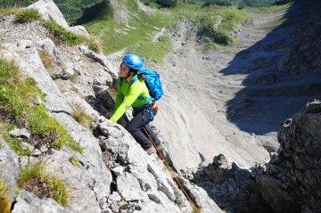 Klettern Abseilen Fotoaktion Hammerspitze (358)