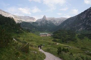 Wandern Alpenüberquerung Berchtesgaden Dolomiten (6)