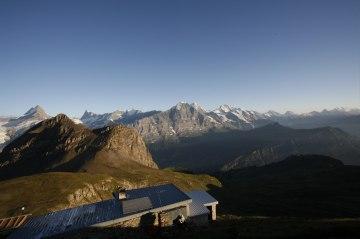 Wandern Bärentrek Faulhorn