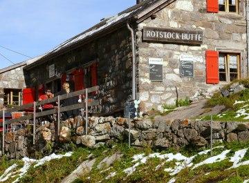 Wandern Bärentrek Rotstockhütte