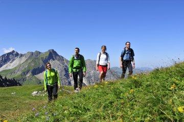 Wandern Gruppe Fotoaktion Hammerspitze (116)