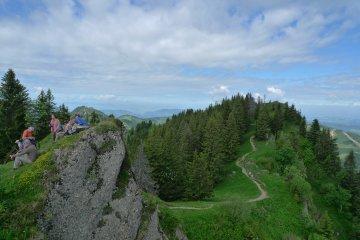 Wandern Hochgrat Nagelfluh (10)