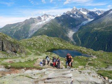 Wandern Rund um Mont Blanc Frankreich (3)