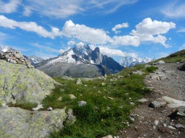 Wandern Rund um Mont Blanc Frankreich (4)