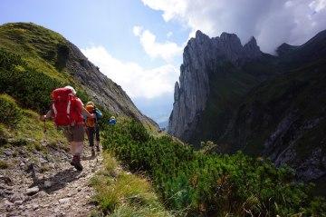 Wandern Schweizer Alpenüberquerung (20)
