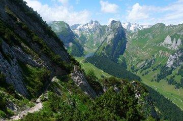 Wandern Schweizer Alpenüberquerung (45)
