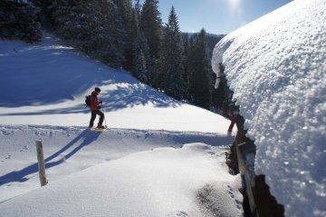 Schneeschuhwanderung Allgäu zum Fellhorn 2