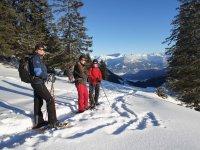 Schneeschuhwanderung Allgäu zum Fellhorn
