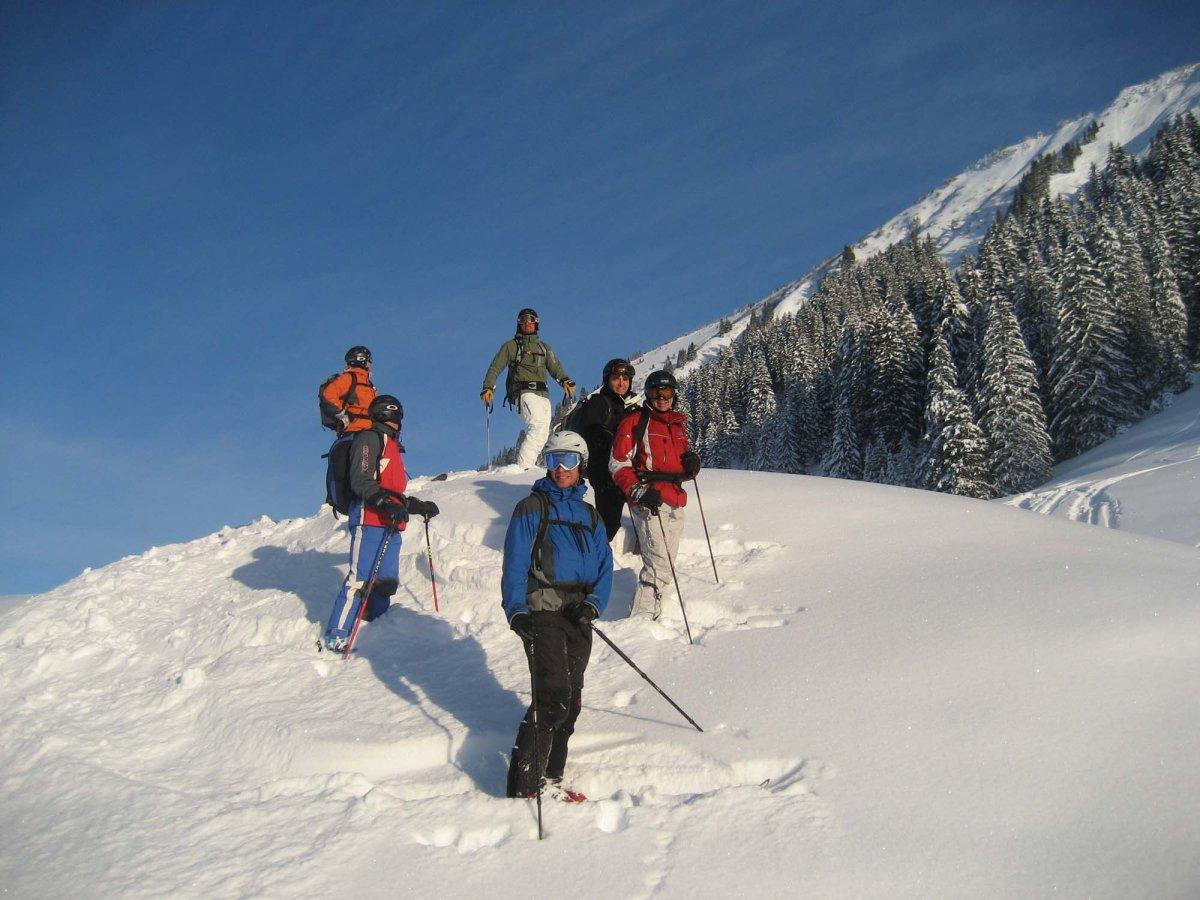 Klettersteigset Oberstdorf Leihen : Lawinenkurs für skifahrer alpinschule oberstdorf