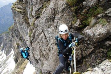 Klettersteig Allgäu Zweiländersteig