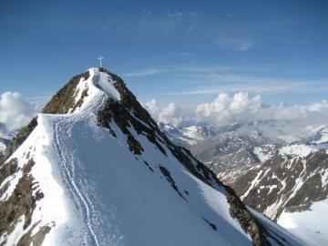 Hochtour Ostalpen Wildspitze Gipfel