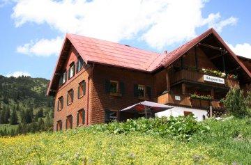 Wandern Allgäu Holzgauer Haus