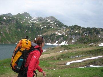 Wandern Lechweg