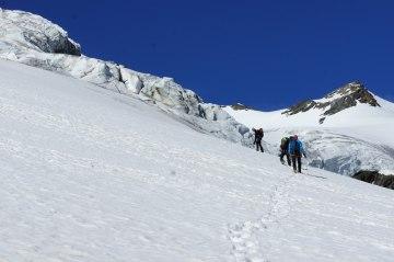 Eiskurs Gletscher Seilschaft