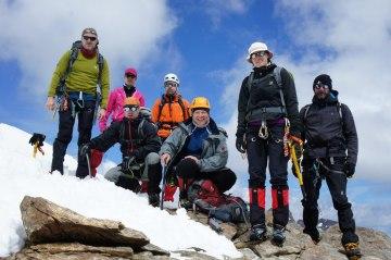 Eiskurs Gletscher Gipfel