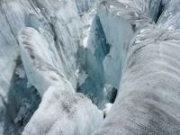Eiskurs Gletscher Spalte