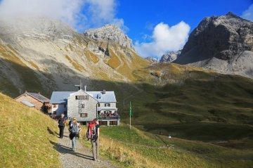 Wandern Allgäu Rappensee Hütte