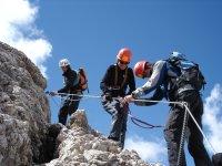 Klettersteig Dolomiten Marmolada