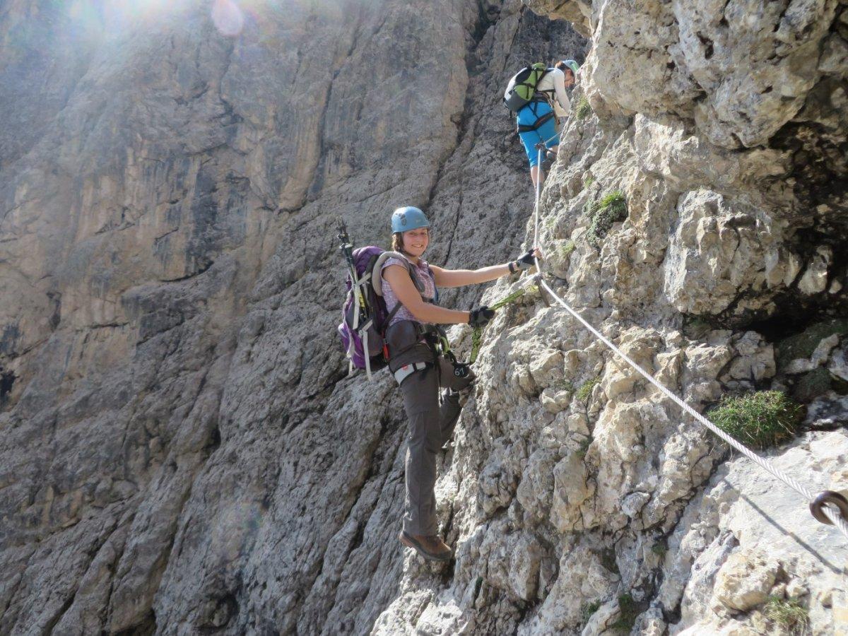 Klettersteig F : Postalmklamm klettersteig mit f variante bergsteigen