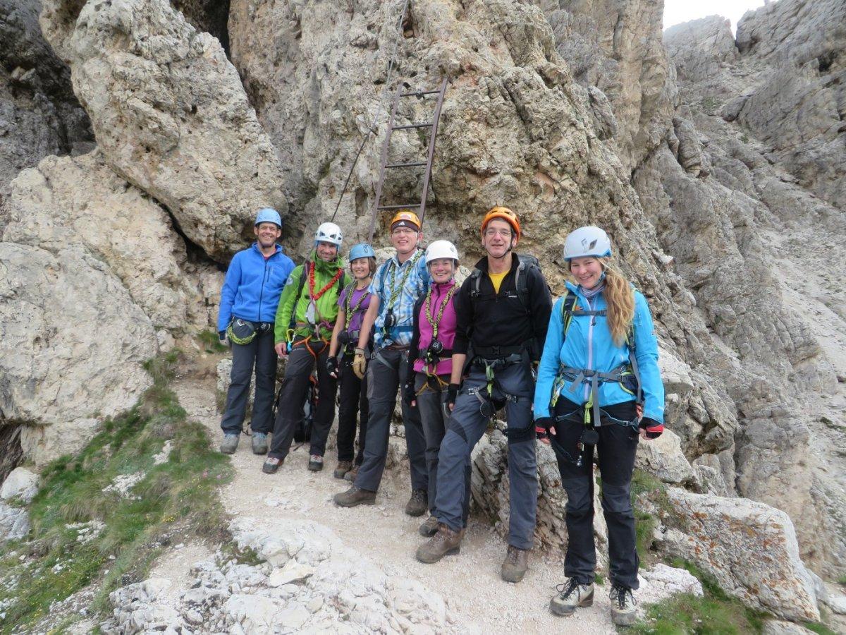 Klettersteig Dolomiten : Kriegssteige in den dolomiten