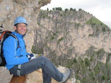 Klettersteig Dolomiten
