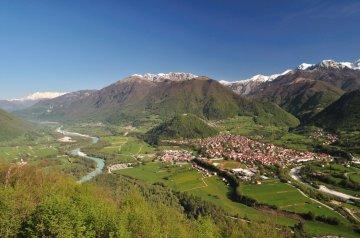Wandern Soca Slowenien