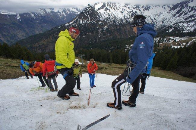 Bergführerfortbildung
