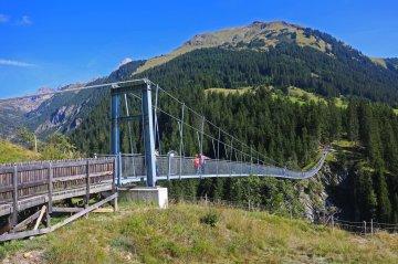 Wandern O Meran Hängebrücke