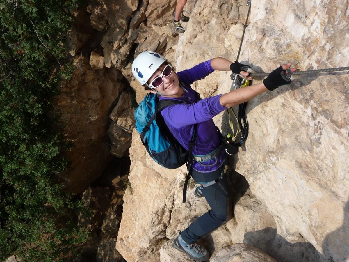 Klettersteig Gardasee : Klettersteigkurs am gardasee