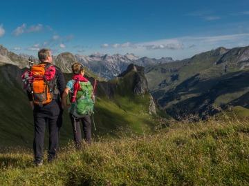 Bergwandern Lechtal Durchquerung
