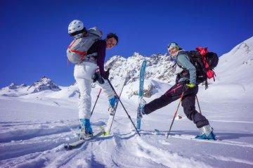 Skitour Heidelberger Hütte